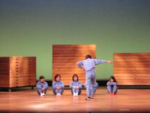 田植えのシーンは音楽とマッチしてとてもきれいでした。