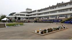 志津川中の生徒や沖縄から駐屯している自衛隊のみなさんも参加してくれた。